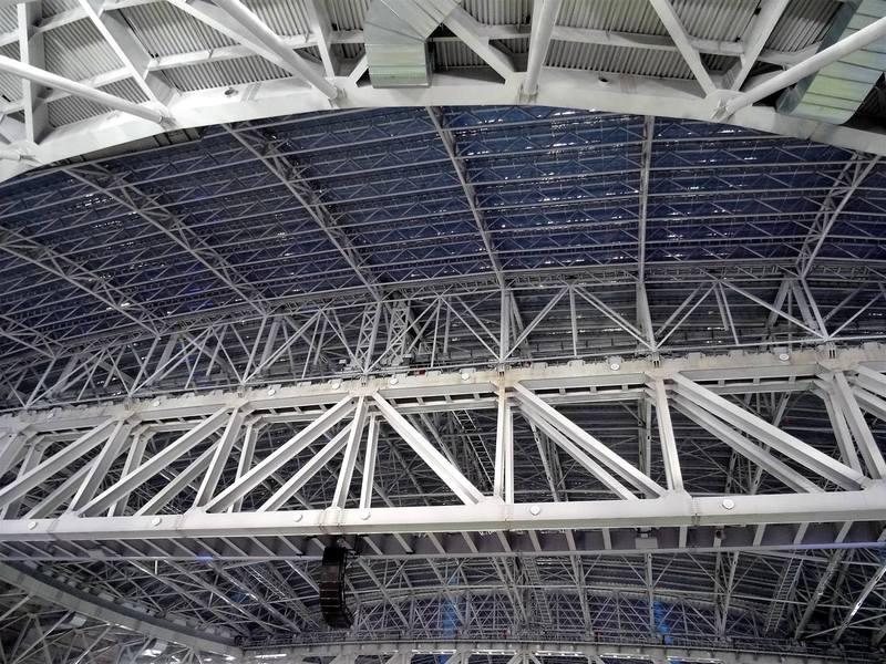 Крыша стадиона Зенита
