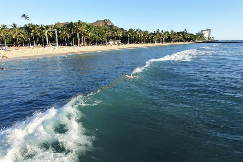 Гонолулский пляж