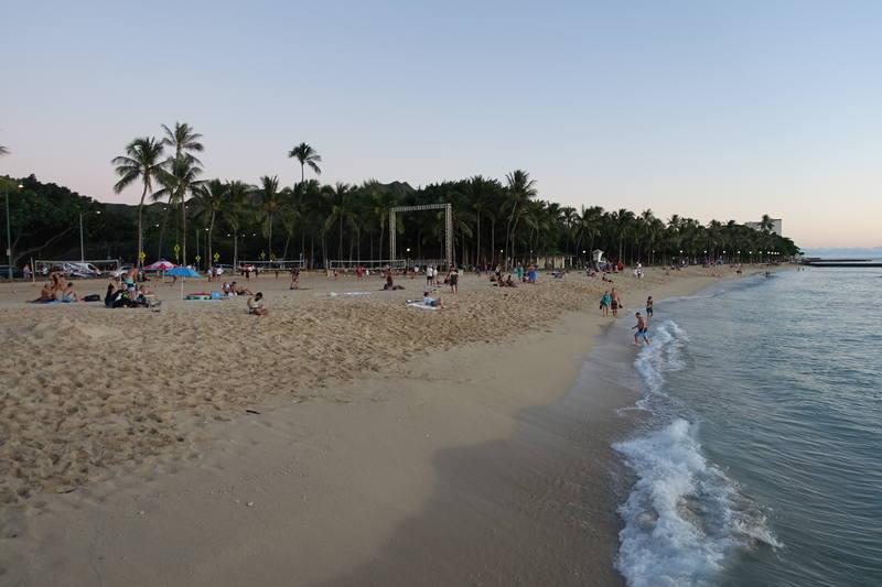 Закат на Гавайях