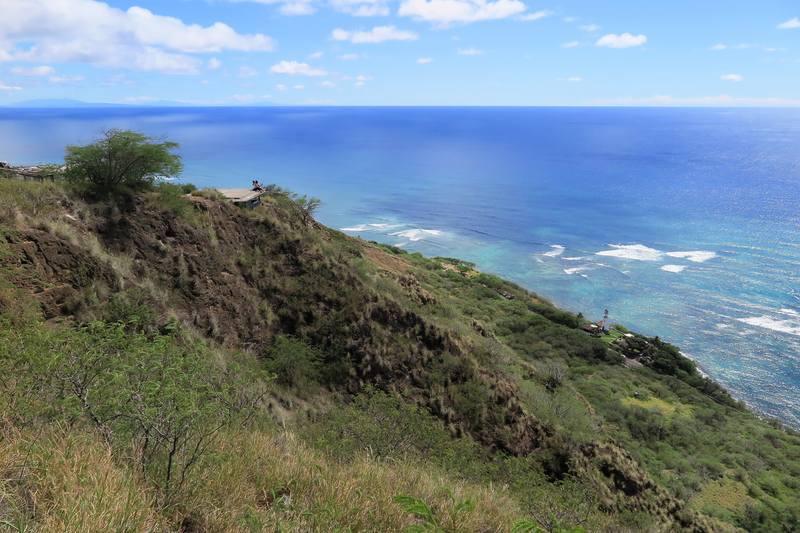 Алмазная голова Гавайев или вулкан  Diamond Head