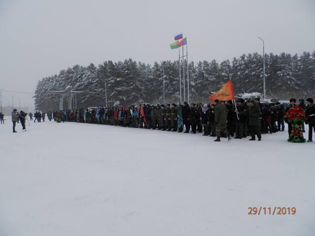 Областной этап Всероссийской акции «Вахта Памяти-2019»