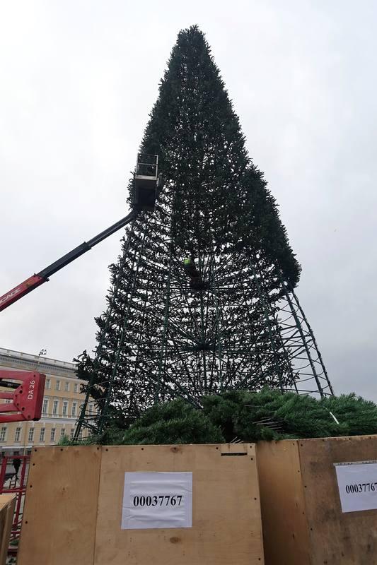 Главная елка Петербурга