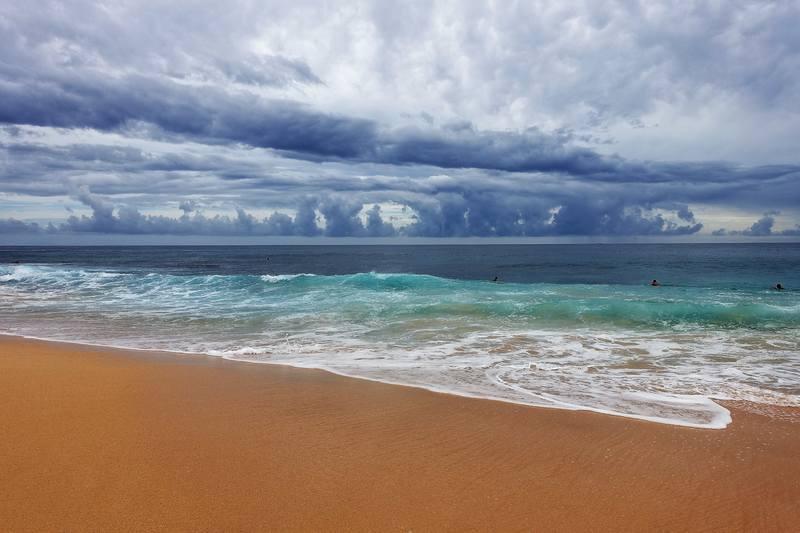 Пляж на Оаху