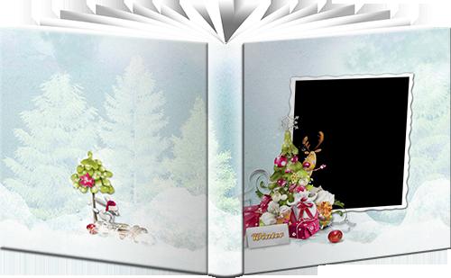 Дед Мороз прислал нам елку фотка - Детский фотоальбом
