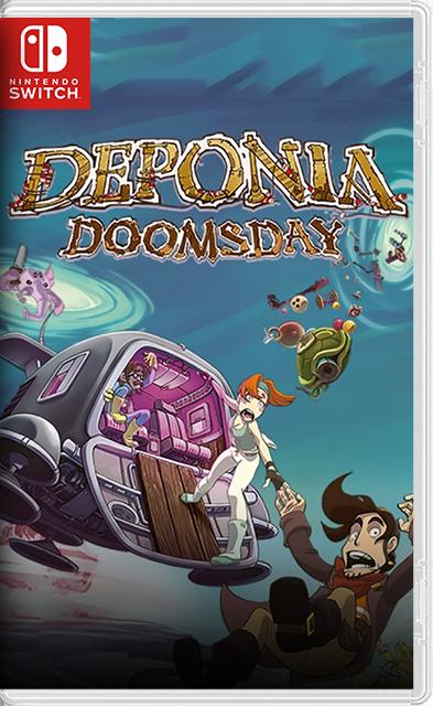 Deponia Doomsday Switch NSP XCI