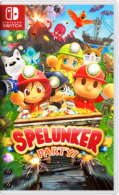 Spelunker Party! Switch NSP NSZ