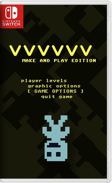 nx-VVVVVV + 170 custom levels + editor Switch NSP