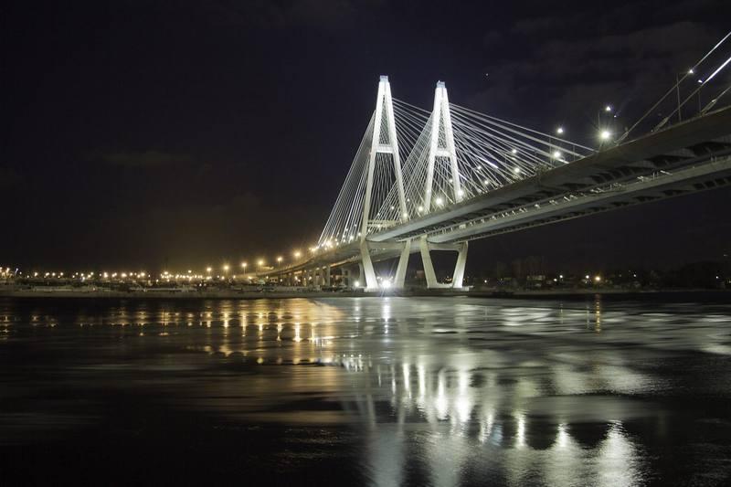 Петербургский Большой Обуховский мост
