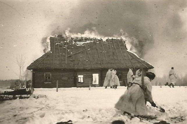 Приказ № 0428. Разрушать и сжигать дотла все населенные пункты в тылу немецких войск