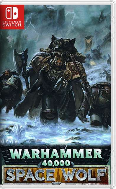 WARHAMMER 40,000: SPACE WOLF Switch NSP XCI