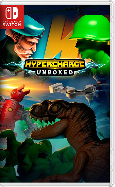 HYPERCHARGE Unboxed Switch NSP XCI