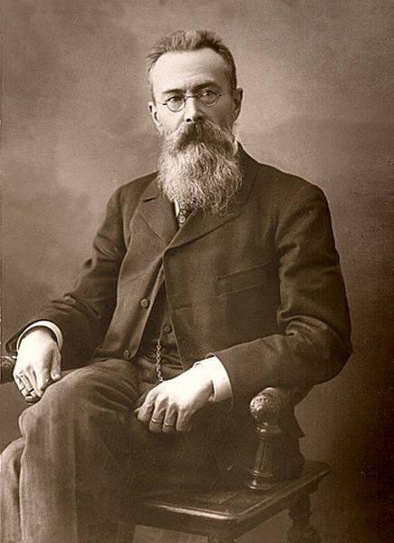 Nikolay A Rimsky Korsakov 1897