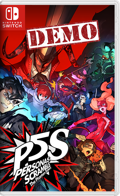 Persona 5 Scramble: The Phantom Strikers Switch NSP NSZ XCI (DEMO)