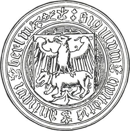 Берлин. Путешествие туриста - памятники, достопримечательности и не только... emblem-of-berlin15v