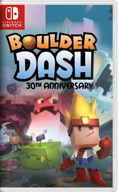 Boulder Dash 30th Anniversary Switch NSP XCI