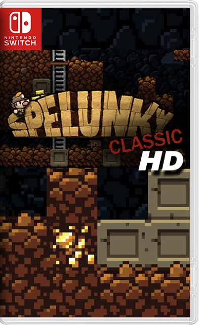 Spelunky Classic HD Switch NSP