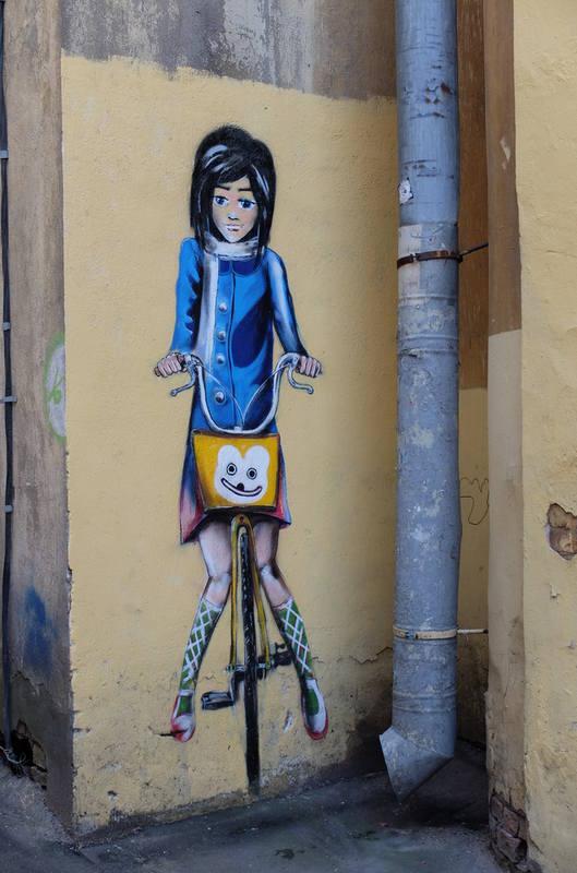 Питерские граффити