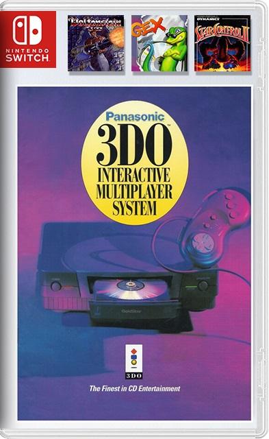 Panasonic 3DO (Wolfenstein 3D, Star Control II, GEX ,Retroarch) Switch NSP