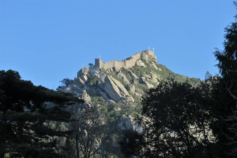 крепость мавров в Синтре