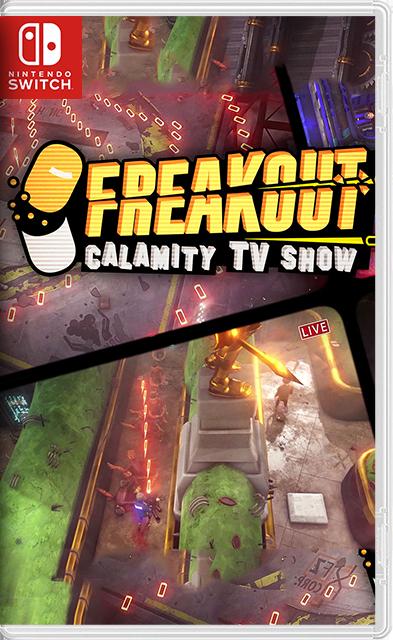 Freakout: Calamity TV Show Switch NSP XCI
