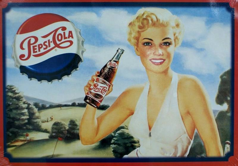 Пепси-Кола ретро реклама