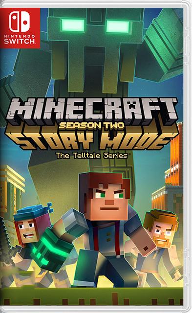 Minecraft Story Mode: Season Two Switch NSP XCI