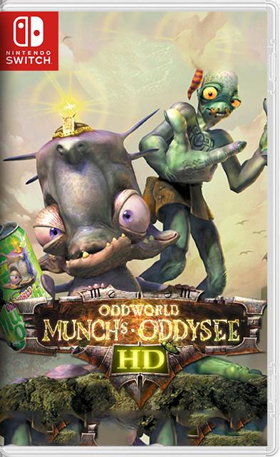 Oddworld: Munch's Oddysee Switch NSP XCI