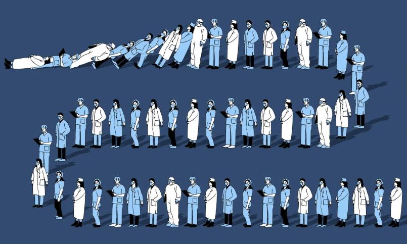 Главврач: смертность выше официальных цифр