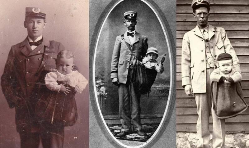 Дети по почте