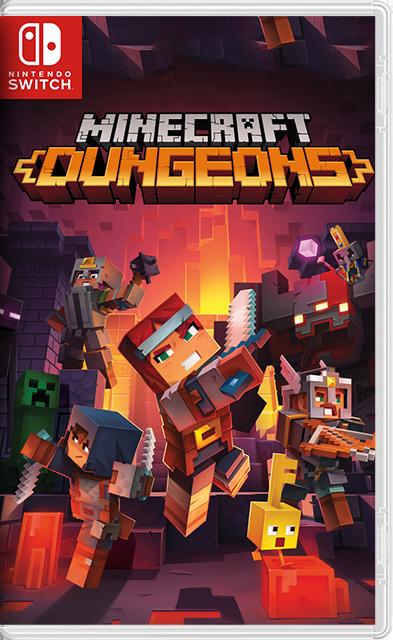 Minecraft Dungeons Switch NSP XCI NSZ