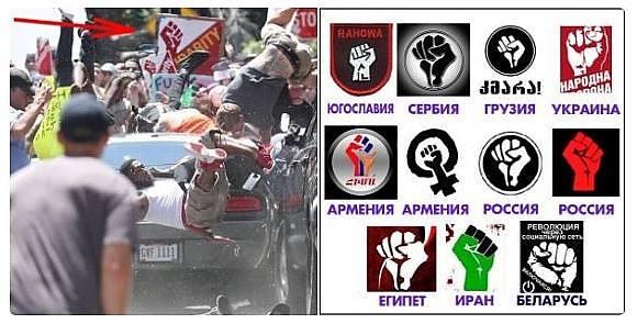 кулак - символ протеста