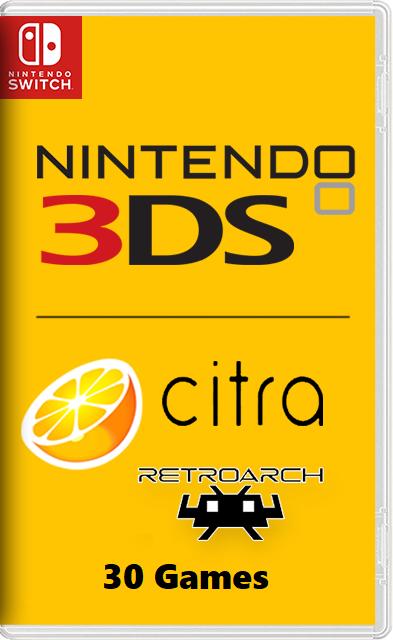 Citra – Nintendo 3DS emulator + 30 Games Switch NSP
