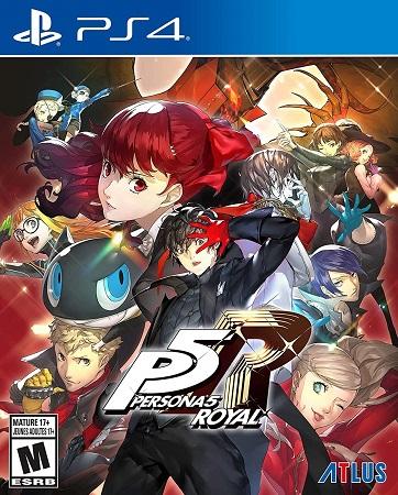 Persona 5 Royal PS4 PKG