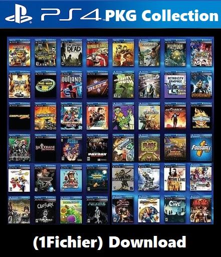 PS4 PKG Collection Download 1Fichier