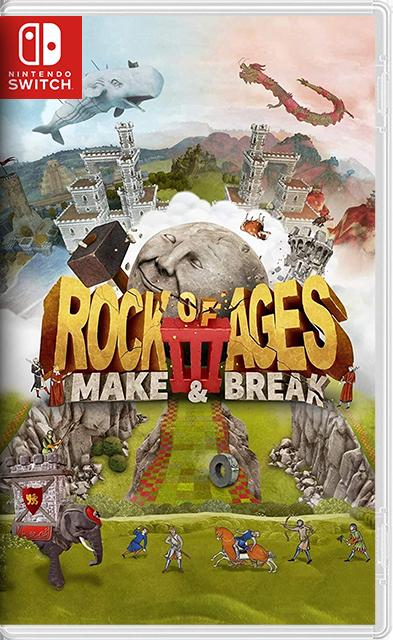 Rock of Ages 3: Make & Break Switch NSP XCI