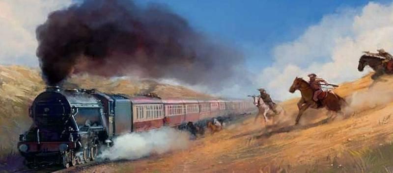 первое ограбление поезда
