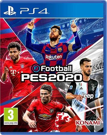 EFootball Pro Evolution Soccer 2020 PS4 PKG