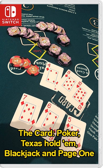 The Card Poker, Texas hold em, Blackjack and Page One Switch NSP XCI NSZ