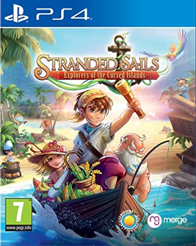 Stranded Sails – Explorers of the Cursed Islands PS4 PKG