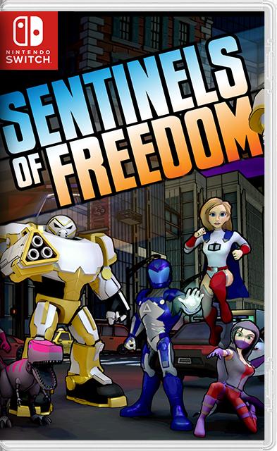 Sentinels of Freedom Switch NSP XCI