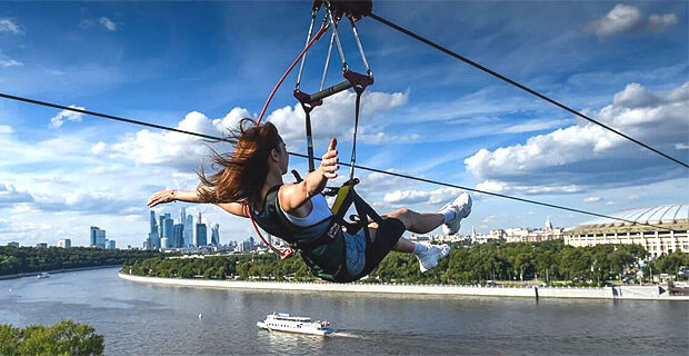 Ведущие «Европы Плюс» откроют новый аттракцион в Skypark Moscow