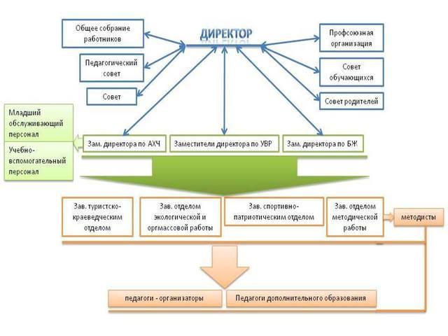 структура ДЮЦ