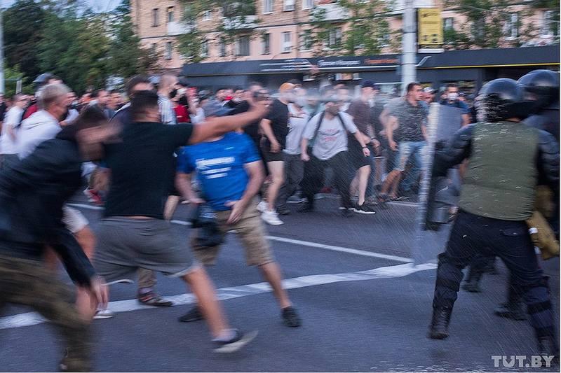 Мирный белорусский протест
