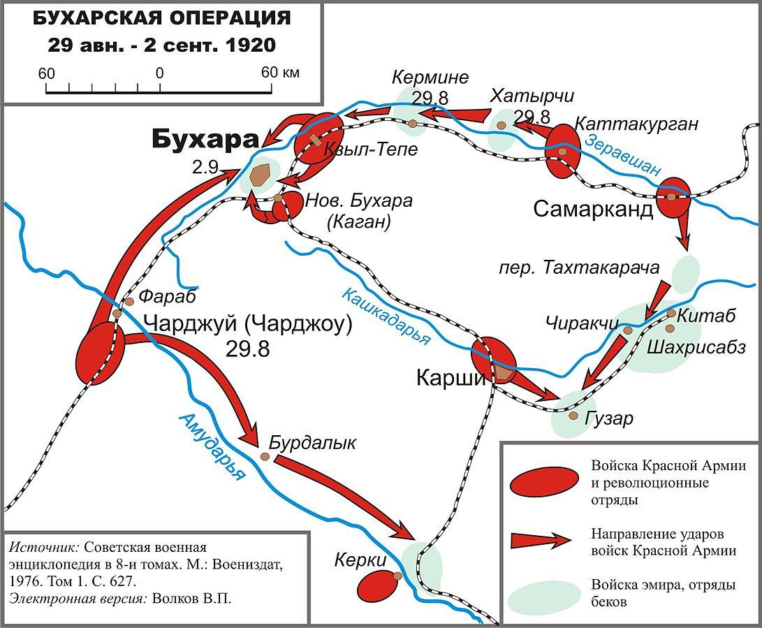 Bukhara military operation 1920