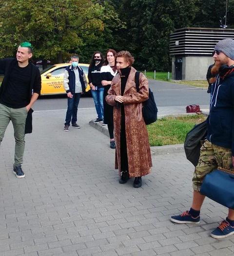 Иван Соботницкий на съемках 21 сезона битвы