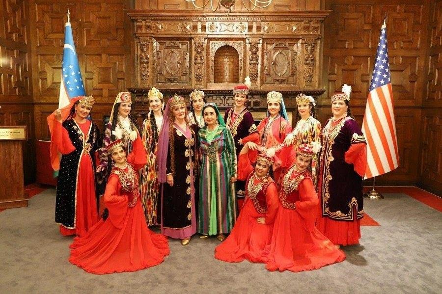 uzbek raqslari