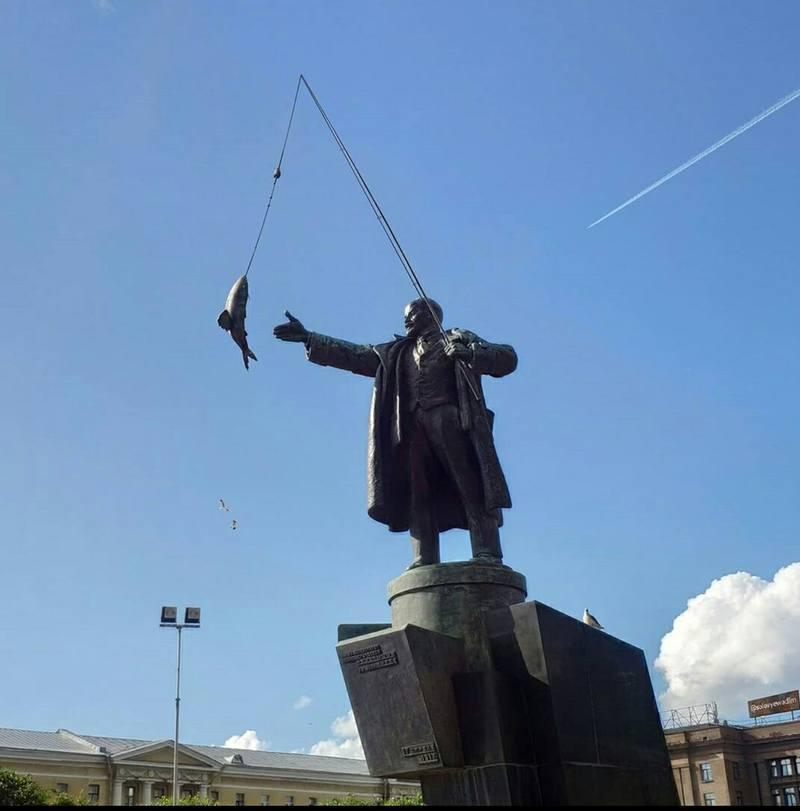 Ленин рыбак