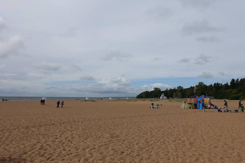 Золотой пляж Зеленогорска