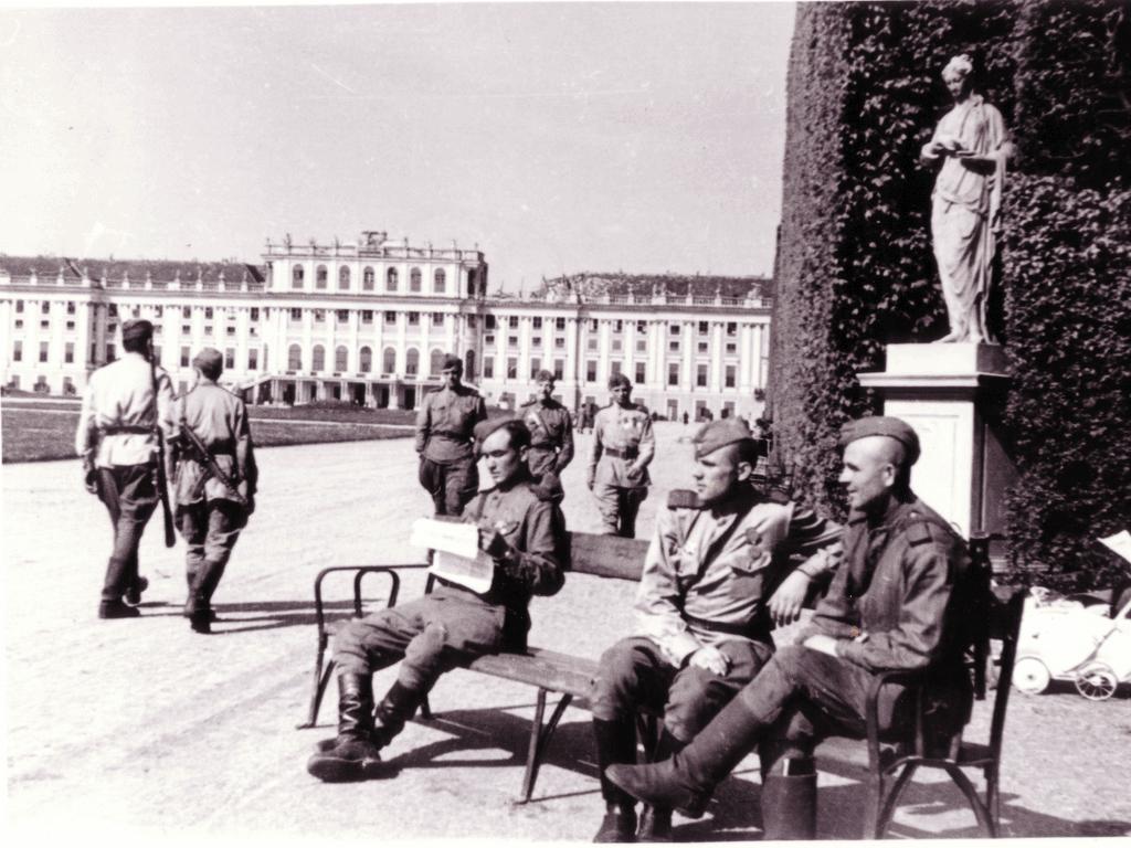 Мирные будни в послевоенной Вене