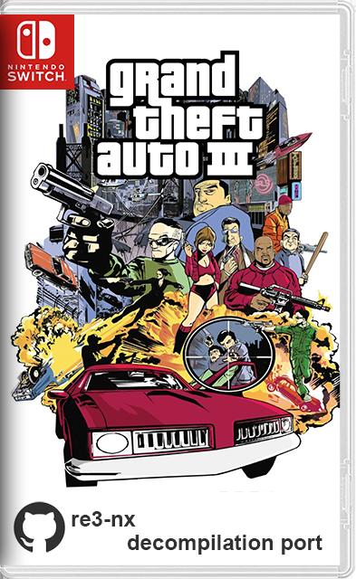 Grand Theft Auto III Switch NSP